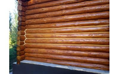 Как масло преображает деревянный дом