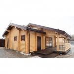 Строительство деревянных бань из клееного бруса