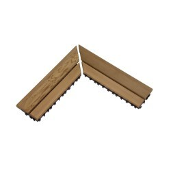 Деревянный коврик для пола SAWO, угловая рамка 595-D-CNR (2 шт.)