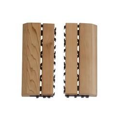 Деревянный коврик для пола SAWO, внешняя рамка 595-D-SID (2 шт.)