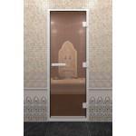 Дверь для хамама DoorWood Хамам Бронза