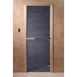 Дверь для сауны DoorWood Синий Жемчуг