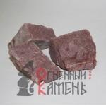 Малиновый кварцит Огненный камень, 20 кг