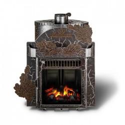 Печь дровяная Ферингер с закрытой каменкой Классика Паровая Дуб