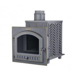 Чугунная банная печь Гефест ЗК 100 (П)