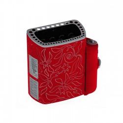 Дизайнерская электрическая печь для бани и сауны SAWO Dragonfire Minidragon