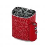 Дизайнерская электрическая печь для бани и сауны SAWO Dragonfire Scandifire