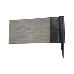 Угловой элемент для грядок и клумб ДПК