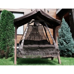 Подвесное плетеное кресло-качели Besta Fiesta Сеара