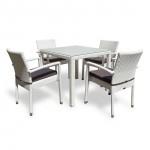 Комплект плетеной мебели Joygarden Milano белый