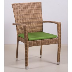 Кресло из искусственного ротанга ТЕРРАСА Люкс Бали
