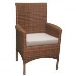 Кресло из искусственного ротанга ТЕРРАСА Люкс Кипр