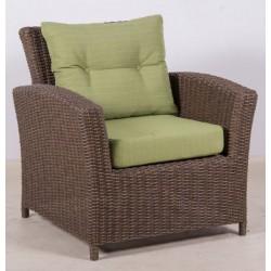Кресло плетеное из искусственного ротанга ТЕРРАСА Люкс Сан-Марино