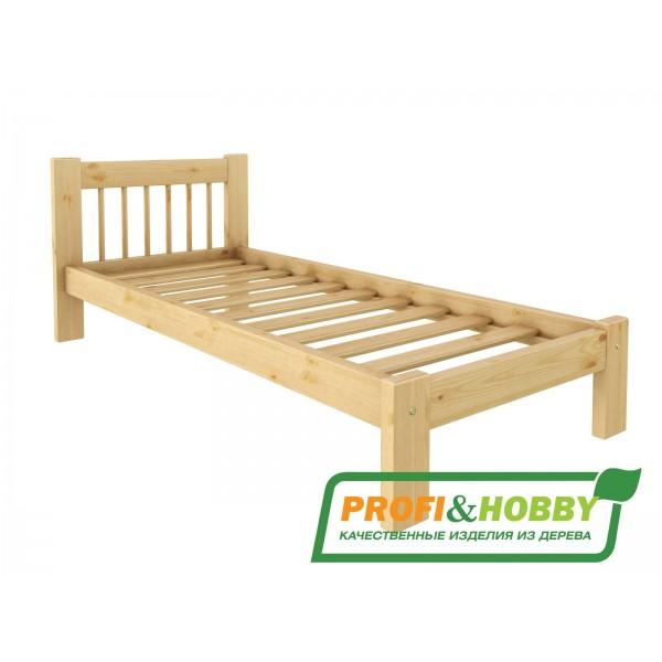 Кровать деревянная Дачная