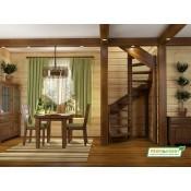 Деревянные лестницы (7)