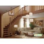 Деревянная Лестница К-001М