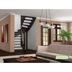 Деревянная Лестница K-033M
