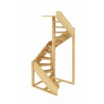 Деревянная Лестница ЛС- 1.2хм