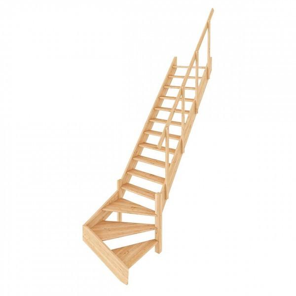 Деревянная Лестница ЛС-14