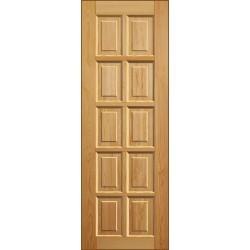 Деревянная дверь - полотно Шоколадка