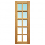 Исполнение Двери: Под стекло