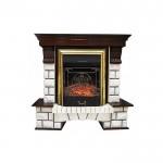 Каминокомплект Royal Flame Pierre Luxe с очагами Majestic FX/Fobos FX
