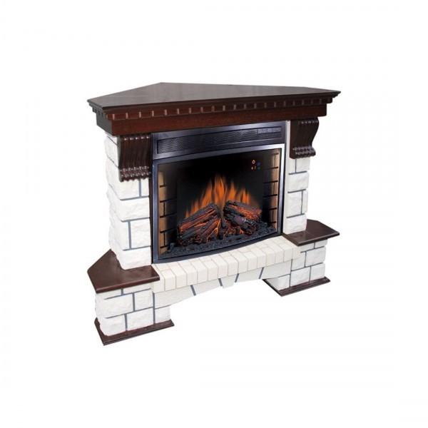 Каминокомплект Royal Flame Pierre Luxe угловой с очагом Dioramic 25FX