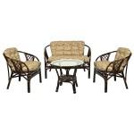 Комплект мебели из натурального ротанга  Аркадия