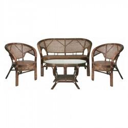 Комплект мебели из натурального ротанга Пеланги