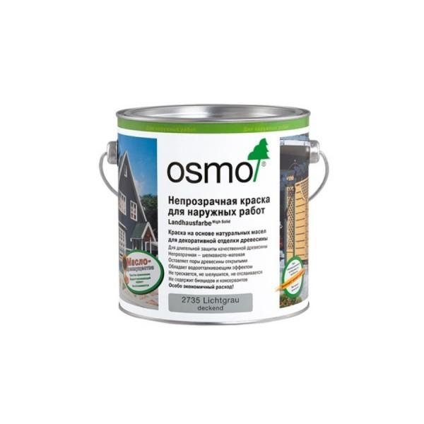 Непрозрачная краска для наружных работ OSMO Landhausfarbe
