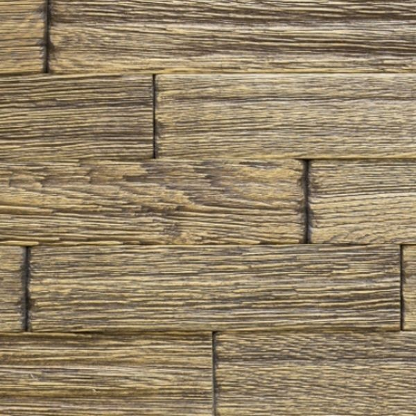 Деревянная мозаика Дуб браш 24