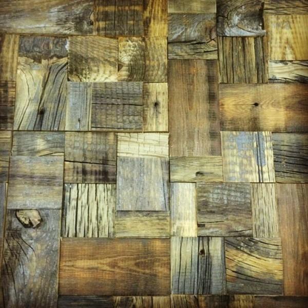 Деревянная мозаика Лофт 21