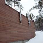 Фасадная доска ДПК Швеция