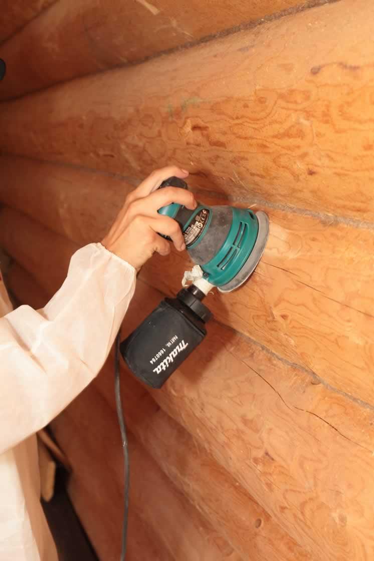 Правильная герметизация деревянного сруба