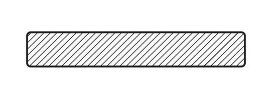 Фасадная доска 19х140 в разрезе