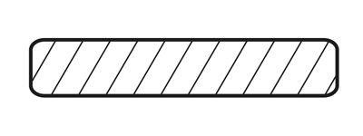 Планка/плинтус прямая 15 кедр 45х11