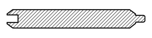 Вагонка кедр. Имитация бруса 17,5х136