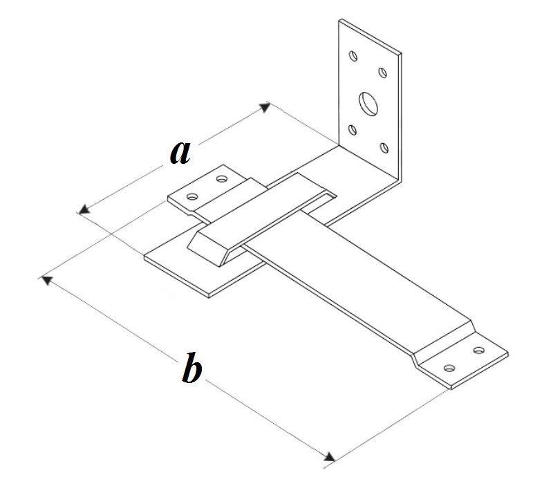 Схема Скользящая опора стропил PA
