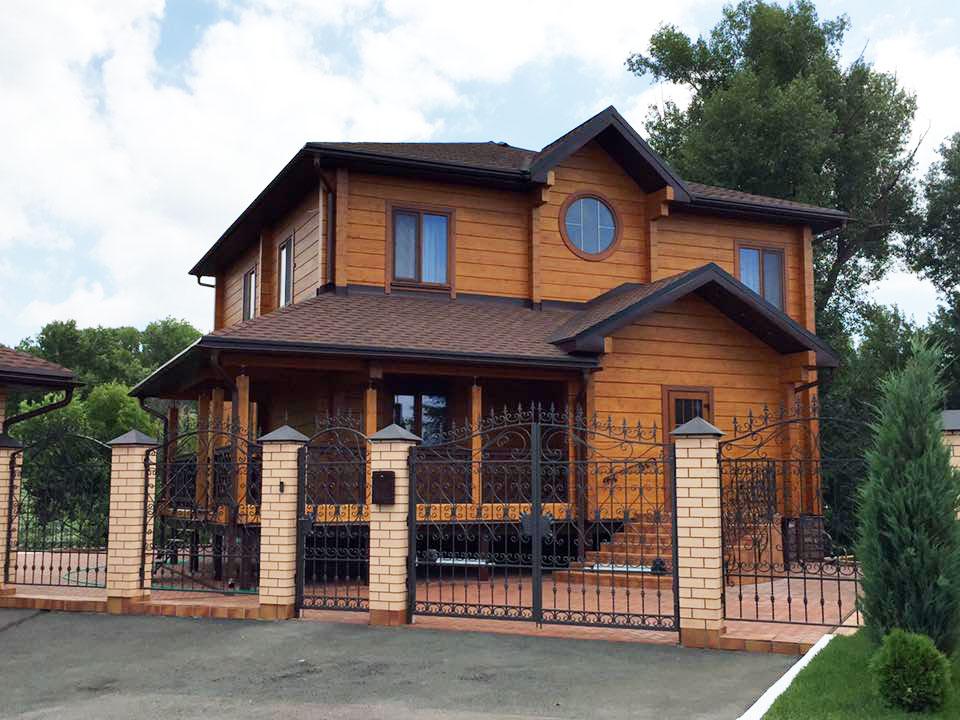 Окрашивание деревянных поверхностей (1)