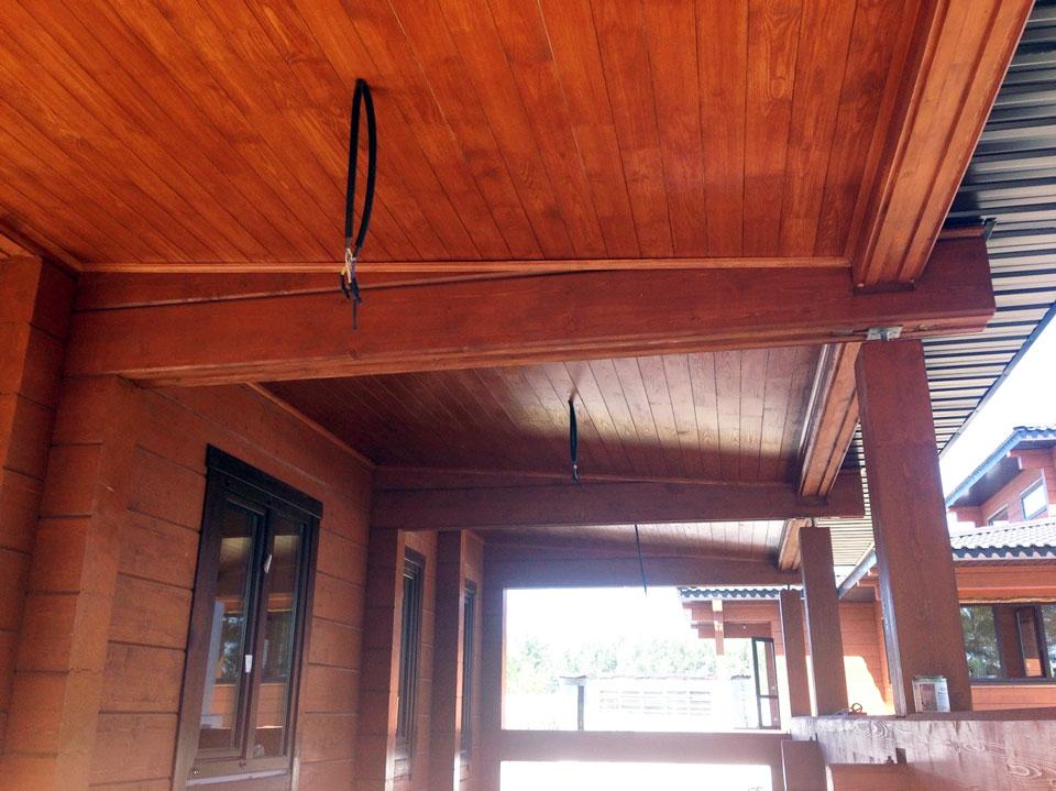 Окрашивание деревянных поверхностей (6)